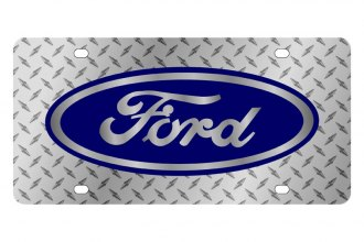 Eurosport Daytona® - Ford Motor Company - Diamond License Plate with Silver Ford Logo