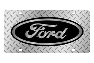 Eurosport Daytona® - Ford Motor Company - Diamond License Plate with Black Ford Logo