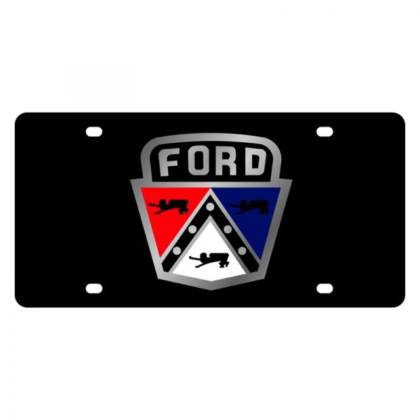 eurosport daytona174 ford motor company license plate with