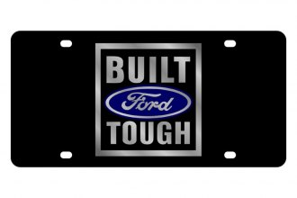Eurosport Daytona® - Ford Motor Company - Black License Plate with Built Ford Tough Logo