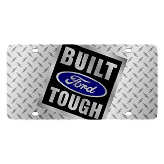 Eurosport Daytona® - Ford Motor Company Diamond License Plate with Built Ford Tough Logo