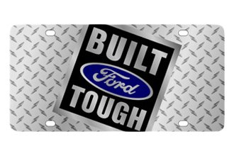 Eurosport Daytona® - Ford Motor Company - Diamond License Plate with Built Ford Tough Logo