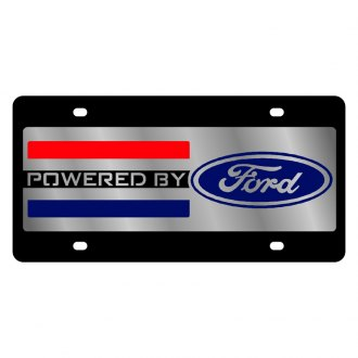 Eurosport Daytona® - Ford Motor Company License Plate with Style 2 Powered by Ford Logo