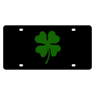 Eurosport Daytona® - LSN License Plate with Clover Leaf Logo