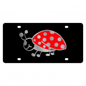 Eurosport Daytona® - LSN License Plate with Lady Bug Logo