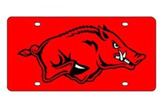 Eurosport Daytona® 2995-ARK1-R - Collegiate University of Arkansas License Plate