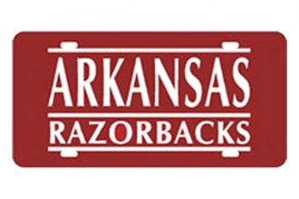 Eurosport Daytona® 2995-ARK2 - Collegiate - University of Arkansas License Plate
