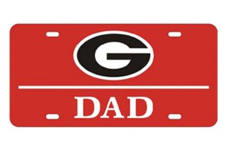 Eurosport Daytona® 2995-GEOR4 - Collegiate University of Georgia - Dad License Plate