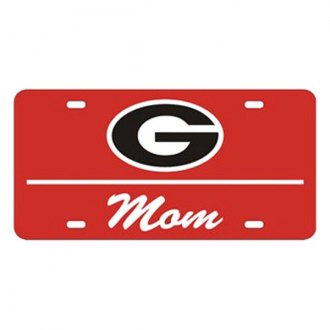 Eurosport Daytona® - Collegiate University of Georgia - Mom License Plate