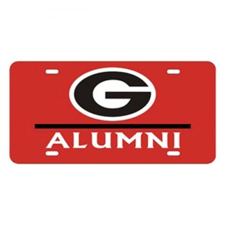 Eurosport Daytona® - Collegiate University of Georgia - Alumni License Plate