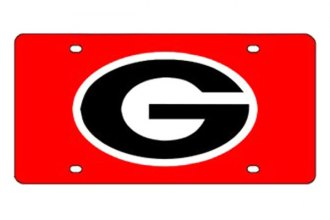 Eurosport Daytona® 2995-GEOR9 - Collegiate University of Georgia License Plate