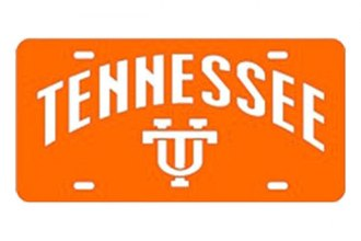 Eurosport Daytona® 2995-TENN6 - Collegiate University of Tennessee License Plate