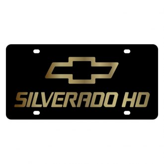 Eurosport Daytona® - GM License Plate with Silverado HD Copy Logo