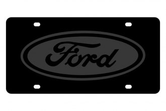 Eurosport Daytona® - Ford Motor Company - License Plate with Ford Logo