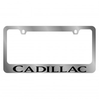Eurosport Daytona® - GM License Plate Frame with Cadillac Word