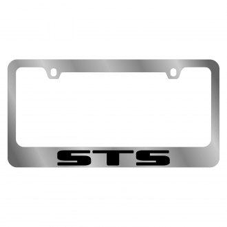 Eurosport Daytona® - GM Chrome License Plate Frame with STS Logo