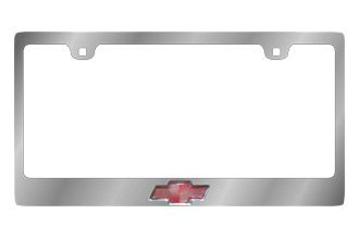 Eurosport Daytona® 5301LOA - GM License Plate Frame with Chevrolet Logo