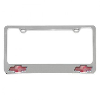Eurosport Daytona® - GM License Plate Frame with Chevrolet Dual Logos Logo