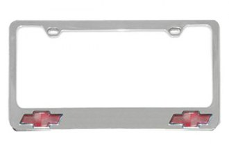 Eurosport Daytona® 5301LOB - GM License Plate Frame with Chevrolet Dual Logos Logo