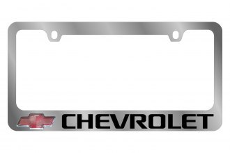 Eurosport Daytona® - GM License Plate Frame with Chevrolet Logo Word Logo