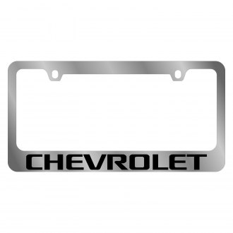 Eurosport Daytona® - GM License Plate Frame with Chevrolet Word Logo