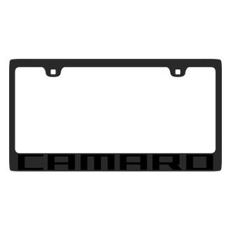 Eurosport Daytona® - GM License Plate Frame with Camaro Logo
