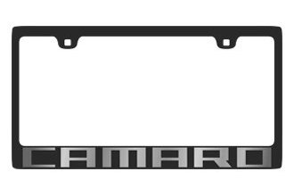 Eurosport Daytona® - Carbon Black Stainless Steel License Plate Frame