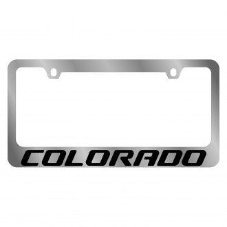 2006 Chevy Colorado Custom License Plate Frames Carid Com