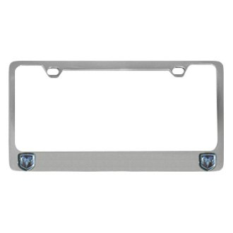 Eurosport Daytona® - MOPAR License Plate Frame with Dodge Dual Logos Logo
