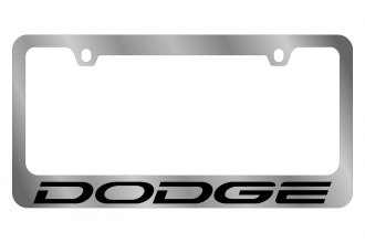 Eurosport Daytona® - MOPAR License Plate Frame with Dodge Word