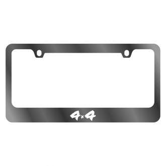 Eurosport Daytona® - MOPAR 2-Hole Chrome License Plate Frame with 4x4 Logo
