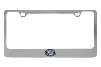 Eurosport Daytona® - Chrysler Logo on Chrome License Plate Frame