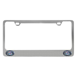 Eurosport Daytona® - MOPAR License Plate Frame with Chrysler Dual Logos Logo
