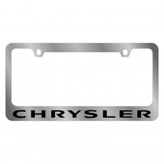 Eurosport Daytona® - MOPAR License Plate Frame with Chrysler Word Logo