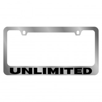 Eurosport Daytona® - MOPAR Chrome License Plate Frame with Unlimited Logo
