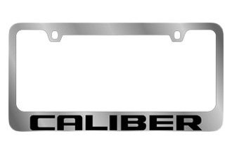 Eurosport Daytona® - MOPAR License Plate Frame with Dodge Caliber Logo