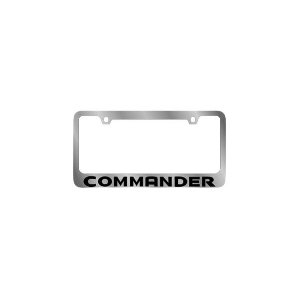 jeep commander 2006 2010 mopar license plate frame with jeep commander. Cars Review. Best American Auto & Cars Review