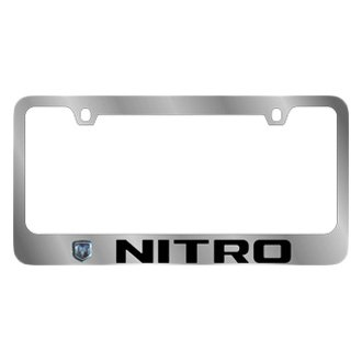 Eurosport Daytona® - MOPAR License Plate Frame with Dodge Nitro Logo