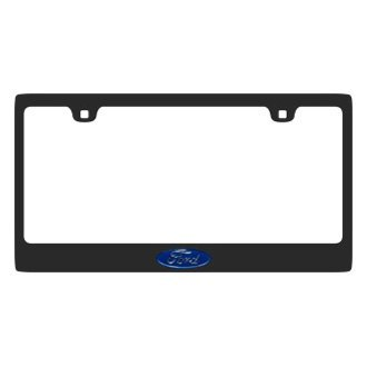 Eurosport Daytona® - Ford Motor Company Carbon Black License Plate Frame with Ford Logo