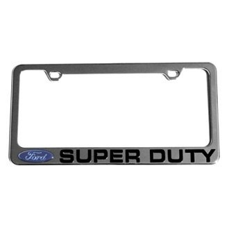 Eurosport Daytona® - Ford Motor Company License Plate Frame with Ford Super Duty Logo