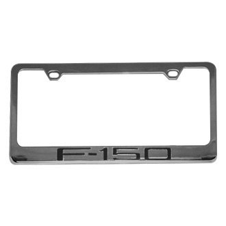 Eurosport Daytona® - Ford Motor Company Chrome License Plate Frame with F-150 Logo
