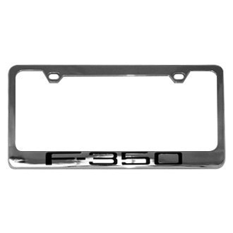 Eurosport Daytona® - Ford Motor Company License Plate Frame with F-350 Word Only