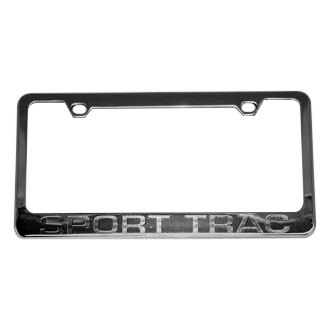 Eurosport Daytona® - Ford Motor Company License Plate Frame with Sport Trac Word Only