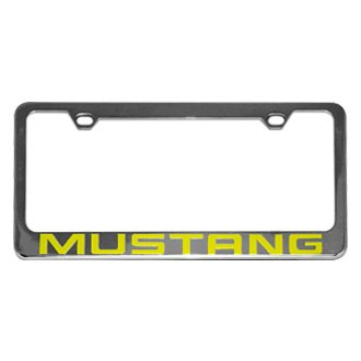 Eurosport Daytona® - Ford Motor Company License Plate Frame with Mustang Word Only