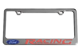 Eurosport Daytona® - Ford Motor Company License Plate Frame with Ford Racing Logo & Word