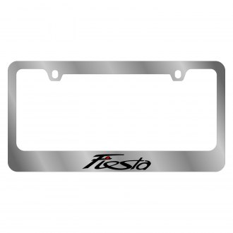 Eurosport Daytona® - Ford Motor Company License Plate Frame with Ford Fiesta Logo