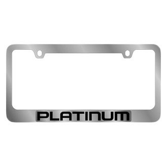 Eurosport Daytona® - Ford Motor Company Chrome License Plate Frame with Platinum Logo