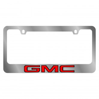 Eurosport Daytona® - GM License Plate Frame with Gmc Logo