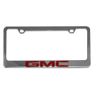 Eurosport Daytona® - GM License Plate Frame with GMC Word Only