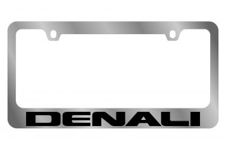 Eurosport Daytona® 5605WO-BK - GM License Plate Frame with Denali Word Only